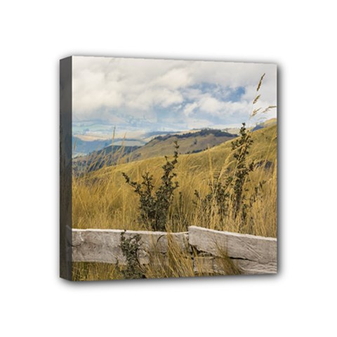 Trekking Road At Andes Range In Quito Ecuador  Mini Canvas 4  X 4  by dflcprints