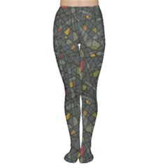 Abstract Reg Women s Tights by FunkyPatterns