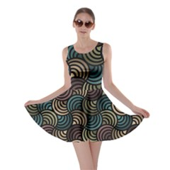 Glowing Abstract Skater Dress by FunkyPatterns