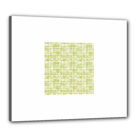 Pastel Green Canvas 24  X 20  by FunkyPatterns