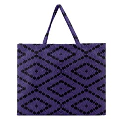 Reboot Computer Glitch Zipper Large Tote Bag by MRTACPANS