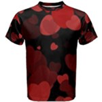Red Hearts Men s Cotton Tee