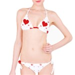 Centered Heart Bikini Set