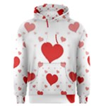 Centered Heart Men s Pullover Hoodie