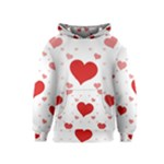 Centered Heart Kids  Pullover Hoodie