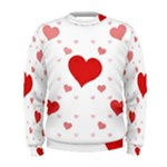 Centered Heart Men s Sweatshirt