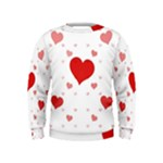 Centered Heart Kids  Sweatshirt