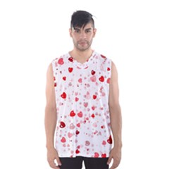 Bubble Hearts Men s Basketball Tank Top by TRENDYcouture