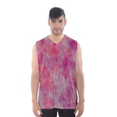 Grunge Hearts Men s Basketball Tank Top by TRENDYcouture