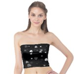 Black and White Hearts Tube Top