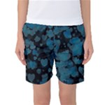 Turquoise Hearts Women s Basketball Shorts