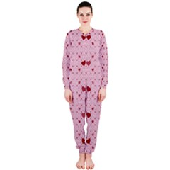 Heart Squares Onepiece Jumpsuit (ladies)  by TRENDYcouture