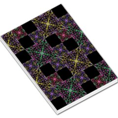Ornate Boho Patchwork Large Memo Pads by dflcprints