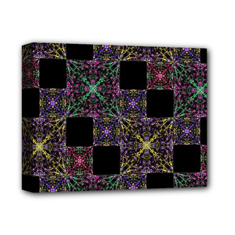 Ornate Boho Patchwork Deluxe Canvas 14  X 11  by dflcprints
