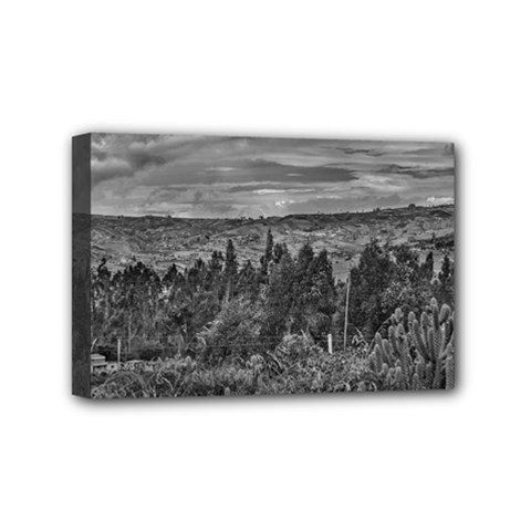 Ecuador Landscape Scene At Andes Range Mini Canvas 6  X 4  by dflcprints