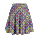 Colorful Duck High Waist Skirt View1