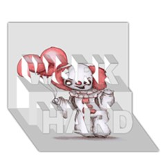 They All Float Work Hard 3d Greeting Card (7x5)  by lvbart