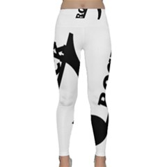 Rock Yoga Leggings by TRENDYcouture