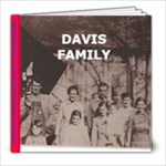 Davis  Rememberances - 8x8 Photo Book (20 pages)