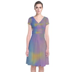 Mystic Sky Wrap Dress by TRENDYcouture