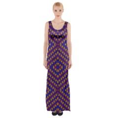 Hearts Maxi Thigh Split Dress by MRTACPANS