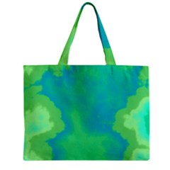 Paradise  Zipper Mini Tote Bag by TRENDYcouture