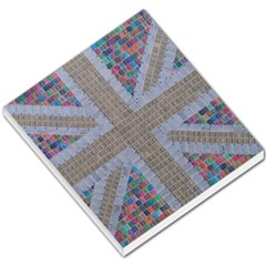 Multicoloured Union Jack Small Memo Pads by cocksoupart