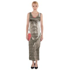 Winston Churchill Fitted Maxi Dress by cocksoupart