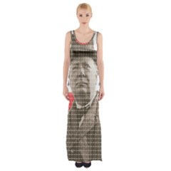 Winston Churchill Maxi Thigh Split Dress by cocksoupart