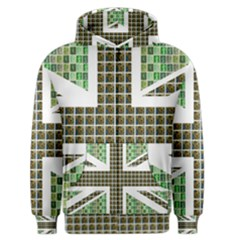 Green Flag Men s Zipper Hoodie