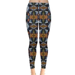 Stones Pattern Leggings  by Costasonlineshop