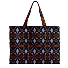 Stones Pattern Zipper Mini Tote Bag by Costasonlineshop