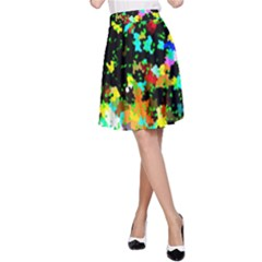 City Night A-Line Skirt by BIBILOVER