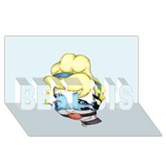 Bibbidi Bobbidi Bondage Best Sis 3d Greeting Card (8x4)