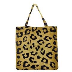 Skin5 Black Marble & Gold Brushed Metal Grocery Tote Bag by trendistuff