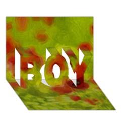 Poppy Iii Boy 3d Greeting Card (7x5)