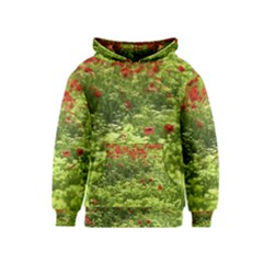 Poppy V Kids  Pullover Hoodie by colorfulartwork