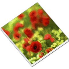 Poppy Vi Small Memo Pads by colorfulartwork