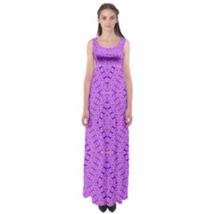 Total Control Empire Waist Maxi Dress