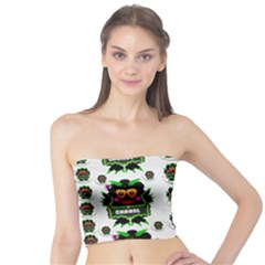 Monster Trolls In Fashion Shorts Tube Top by pepitasart