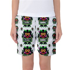 Monster Trolls In Fashion Shorts Women s Basketball Shorts by pepitasart