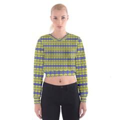 NO VACCINE Women s Cropped Sweatshirt by MRTACPANS
