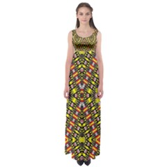 Knotwo Vac Sign Eight Empire Waist Maxi Dress by MRTACPANS