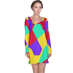 Colorful Misc Shapes                                                  Nightdress by LalyLauraFLM