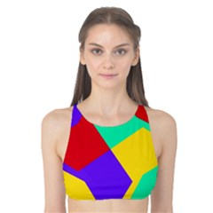 Colorful Misc Shapes                                                  Tank Bikini Top by LalyLauraFLM