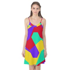 Colorful Misc Shapes                                                  Camis Nightgown by LalyLauraFLM
