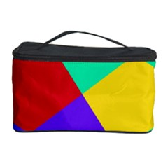 Colorful Misc Shapes                                                  Cosmetic Storage Case by LalyLauraFLM