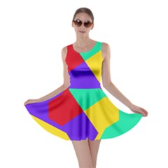 Colorful Misc Shapes                                                  Skater Dress by LalyLauraFLM