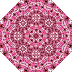 Twirling Pink, Abstract Candy Lace Jewels Mandala  Golf Umbrellas