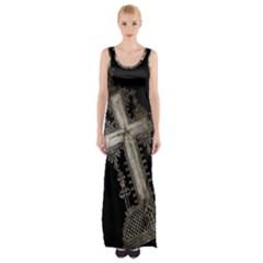 Al238523055 Maxi Thigh Split Dress by alphoto